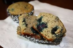 Protein Blueberry Muffins.  Just made these and added a little Greek yogurt and some ground flax! So so good!!! Used ISO100 protein powder.