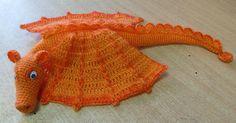 crochet pattern for a dragon