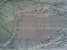 Sketch I: Sketch Map of Taklamakan Desert / Tarim Basin (Chinese Turkestan)