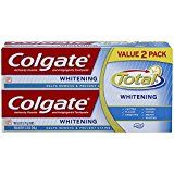 #USAshopping #9: Colgate Total Whitening Toothpaste Twin Pack, 6 Ounce