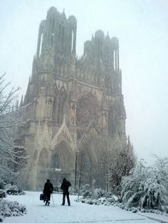 Christmas in Reims, France
