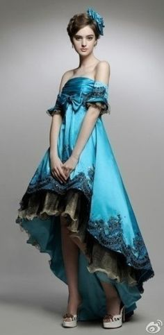 ♥ Romance of the Maiden ♥ couture gowns worthy of a fairytale - jaglady
