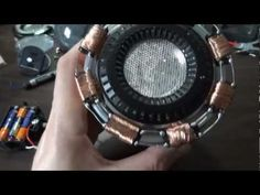 XRobots - Iron Man Arc Reactor prop made from dollar store parts