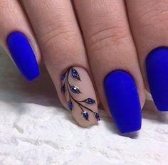 Acrylic Nail Art 609815605777108675 - 40 Trendy 2019 Dark Blue Nail Art Designs Check more at nail. Square Acrylic Nails, Cute Acrylic Nails, Square Nails, Matte Nails, My Nails, Hair And Nails, Nail Art Designs, Acrylic Nail Designs, Blog Designs
