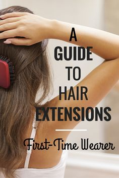 A simple guide to first-time hair extension wearers or those just wanting more i. - - A simple guide to first-time hair extension wearers or those just wanting more information about hair extensions! Hair Extensions Ideas 2019 Fashion H. Clip In Extensions, Hair Extensions Tutorial, Types Of Hair Extensions, Hair Extensions For Short Hair, Hairstyles With Hair Extensions, Hair Extension Hairstyles, Eyelash Extensions, Blonde Hair Extensions Before And After, Keratin Extensions