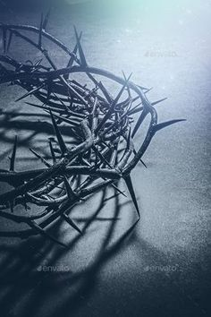 Jesus Christ crown of thorns by Javier Art Photography on Creative Market Idee di Tendenza Dessin Creative e Pregai o Evangelho ? Jesus Christ Images, Jesus Art, God Jesus, King Jesus, Jesus Wallpaper, Cross Wallpaper, Wallpaper Quotes, Trendy Wallpaper, Jesus Crown