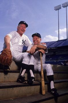 Mickey Mantle and Whitey Ford, New York Yankees