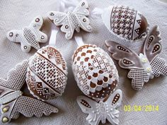 100_6857 Gingerbread, Icing, Eggs, Easter, Sweets, Cookies, Sweet, Decorated Cookies, Sweet Pastries