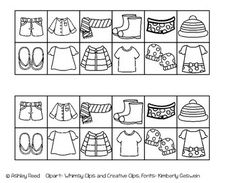 14613aa0249 Weather Clothes Sorting Activity - clothes sorting activity