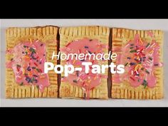 Homemade Pop Tarts Recipe | Yummy Ph
