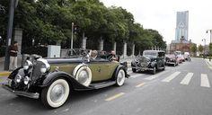 Pagelaran Mobil Klasik Di Cina Sodorkan Puluhan Mobil Klasik Eksotis