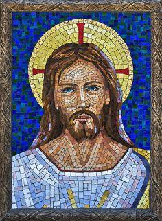 Jesus of Udine, w/cement colorant