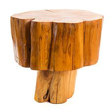 Patagonian Salvaged Cypress Side Table
