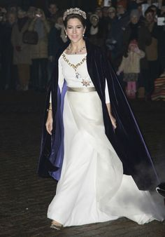 Princess Mary Had the Dreamiest New Year's Outfit, Ever