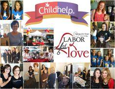 Labor of Love #childhelp #clippingshairdesign #stopchildabuse #laboroflove #fundraiser #cutathon