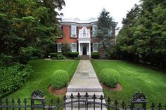 House of the Day ~ Famed Halsey Mansion (1801).  Exceptional Condition! Offered by Nelson Taylor - http://www.raveis.com/mls/1046170/140prospectst_eastsideofprov_ri
