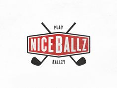 ballz1 25 Cleverly Designed Golf Logos
