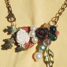 Hey, I found this really awesome Etsy listing at https://www.etsy.com/listing/211276435/vintage-key-necklace-unique-hand-made