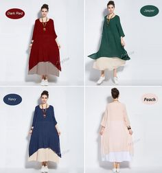Large & detailed images by clicking on ZOOM button. Model (in size XL)  Height:177 cm  Weight:50 kg BWH:87 cm/59 cm/88 cm   Linen and cotton materials, comfortable, breathable, cool and soft fabric, will compliment all body types, slim and full figured women alike. ■ Materials:  Linen Cotton   ■ Item weight:  550 g ( Size 3XL)   ■ Measurements:  NOTICE !!!!!!!!!!!!!!!!!!!!!!!!!!!!!!!!!!!!!!!!!  Size standard varies in different districts, it is just a reference and not supposed as a…