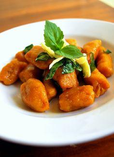 Low FODMAP & Gluten free Recipe - Pumpkin gnocchi http://www.ibssano.com/low_fodmap_recipe_pumpkin_gnocchi.html