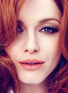 christina hendricks- makeup perfection
