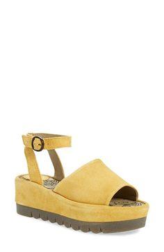 'Booz' Ankle Strap Platform Sandal (Women)