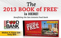 When you purchase the Book of Free, the San Antonio Food Bank earns $20. That is 140 meals! Get yours today http://www.nnovativemarketing.com/FOODBANK/