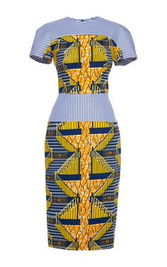 Shop Viola Printed Stretch Wax Dress by Stella Jean for Preorder on Moda Operandi. #Africanfashion #AfricanWeddings #Africanprints #Ethnicprints #Africanwomen #africanTradition #AfricanArt #AfricanStyle #Kitenge #AfricanBeads #Gele #Kente #Ankara #Nigerianfashion #Ghanaianfashion #Kenyanfashion #Burundifashion #senegalesefashion #Swahilifashion ~DK
