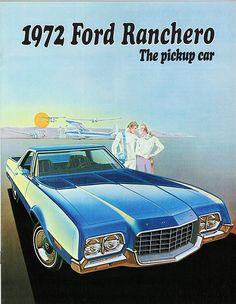 """1972 Ford Ranchero """"The Pickup Car""""!!"""