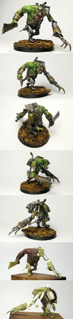 W40K - Orc Cyborg (by Allan Carrasco)