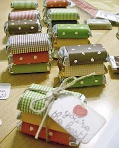 Memory*Preserves: Action Shot - World Card Making Day Party Favors Christmas Favors, Christmas Treats, Christmas Fun, Xmas, Homemade Gifts, Diy Gifts, Craft Gifts, Bazaar Ideas, Craft Show Ideas