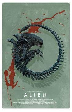 Xeno   Pascal Blanché - Follow Artist on Twitter // Facebook // Instagram // Society6 // DeviantArt  More Pascal Blanchés Artworks    More Alien Related Artworks