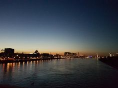 Cologne and the Rhine.