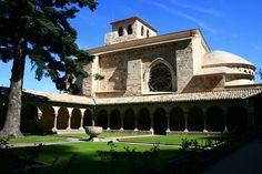 Iglesia de San Pedro de la Rúa, Estella, #Navarra #CaminodeSantiago #LugaresdelCamino