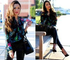 Black Floral Frost + Quiet Riot Giveaway (by Jessica R.) http://lookbook.nu/look/4441917-Black-Floral-Frost-Quiet-Riot-Giveaway