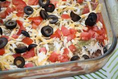 """B"" dubs cafe: 7 Layer dip  superbowl snack party food idea. Love this stuff. It is great when a lot of people are coming over."