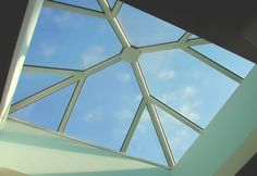 Fitness center in Greece with skylight project. Construction without silicon. 10 years guarantee. www.glazetech.gr