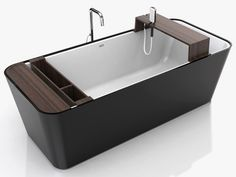 Modern Bathtub with Customizable Accessoriesa and Attachments