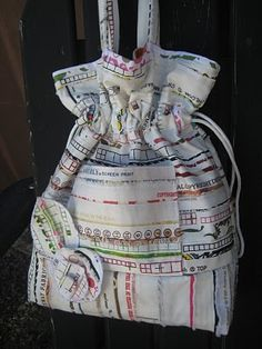 Selvage Blog: Free Pattern for Fabulous Selvage Bag!