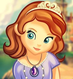 How to Draw Sofia the First, Step by Step, Disney Characters, Cartoons, Draw Cartoon Characters, FREE Online Drawing Tutorial, Added by Dawn, November 18, 2012, 10:39:27 pm