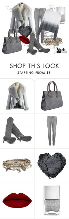 """""""50 shades of grey"""" by tamara-sucha on Polyvore featuring Chicwish, Aéropostale, women's clothing, women's fashion, women, female, woman, misses and juniors"""