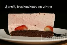 Sernik truskawkowy na zimno - cincin.cc - witaj w krainie inspiracji smaku