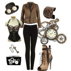 SteamPunk Fashion Collection
