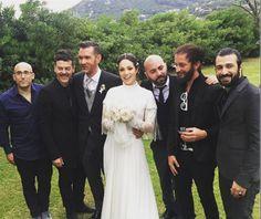 Lavinia #Biancalani e Andrea Mariano, meglio conosciuto come #Andro, tastierista dei #Negramaro, si sono sposati all'Isola d'Elba