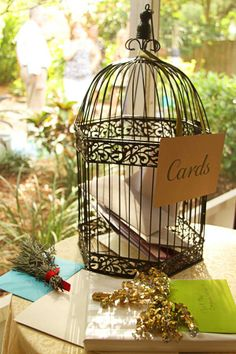 @acarlson0067 do you have anything in mind for your wishing well? We have a decorative bird cage much like this one if you would like to use it.