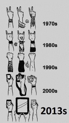 This is kind of depressing. Let's start a peace sign revolution.
