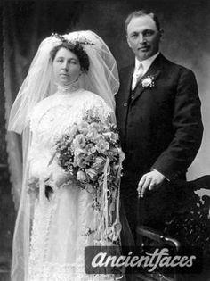 John Keller and Anna Barthel, 1912 Wedding