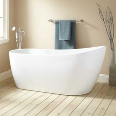 72 sheba acrylic double slipper tub bathtubs and tubs