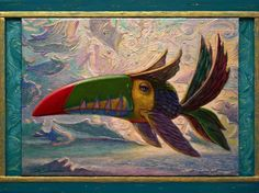 Buy THE TOUCAN FISH - (framed), Acrylic painting by Carlo Salomoni on Artfinder. Discover thousands of other original paintings, prints, sculptures and photography from independent artists.