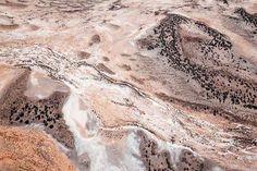 Aerial studies of salt flats near Kalgoorlie in Western Australia. Steve Back